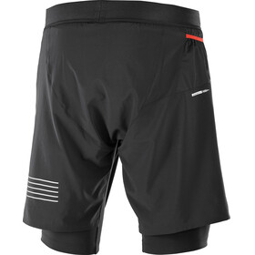 Salomon Fast Wing Hardloop Shorts Heren zwart